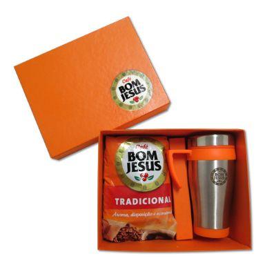 Direct Brindes Personalizados - Kit caixa com caneca e 1 produto
