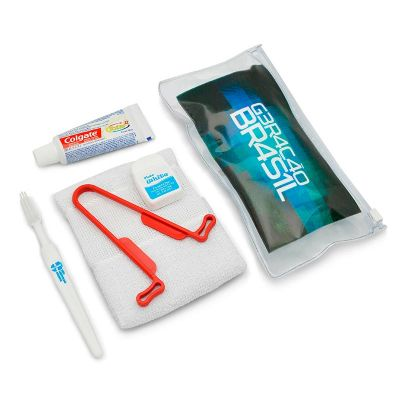 Direct Brindes Personalizados - Kit higiene 6 peças