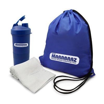 Direct Brindes Personalizados - Kit fitness 3 peças com coqueteleira