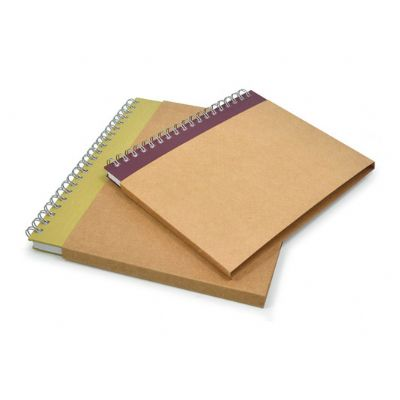 Direct Brindes Personalizados - Luva simples em kraft para cadernos