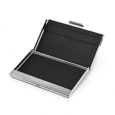 Direct Brindes Personalizados - Porta cartão metal espelhado