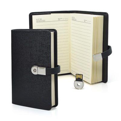 direct-brindes-personalizados - Kit agenda com pen drive removível