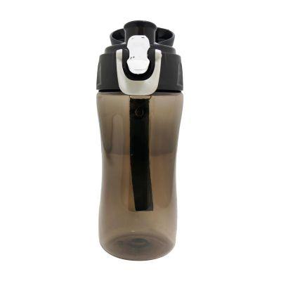 Direct Brindes Personalizados - Squeeze 400 ml em plástico resistente. Possui trava na tampa e alça de nylon na cor preta. Gravação personalizada em Silk Screen.