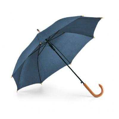 Direct Brindes Personalizados - Guarda chuva cabo madeira