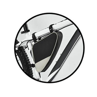 Bolsa para bicicleta em nylon 600D