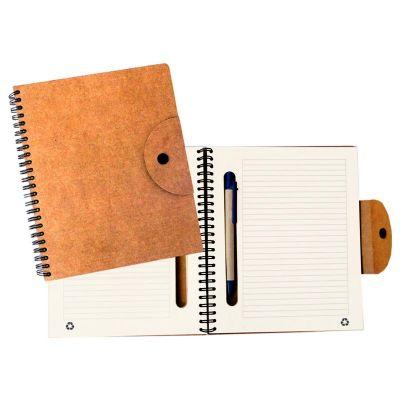 direct-brindes-personalizados - Bloco ecológico de anotações com caneta