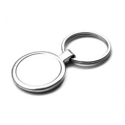 direct-brindes-personalizados - Chaveiro redondo de metal