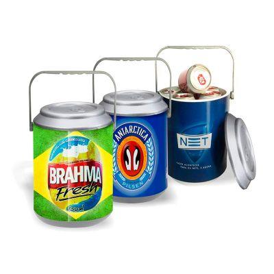 Direct Brindes Personalizados - Cooler térmico para 10 latas PVC rígido