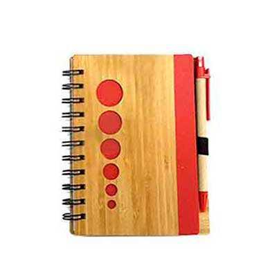 Bloco de anotações em material sintético com 2 bloquinhos recados, 6 sticky notes coloridos com a...