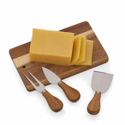 direct-brindes-personalizados - Kit queijo com 4 peças Personalizado