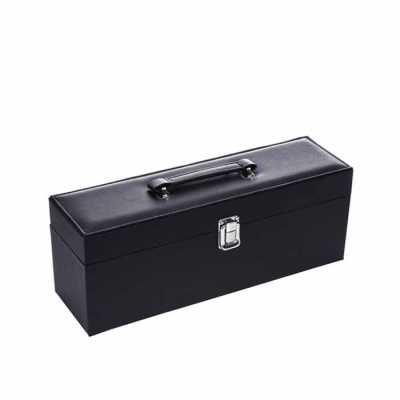 direct-brindes-personalizados - Kit Vinho 4 peças com maleta para vinho Personalizado