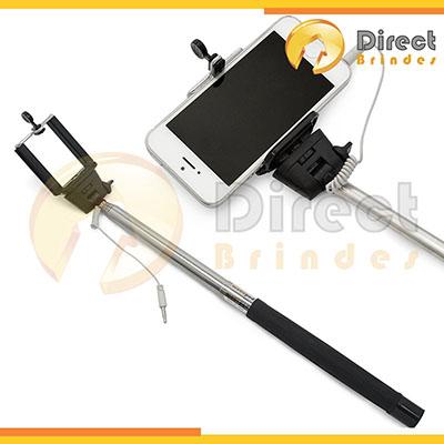 direct-brindes-personalizados - Bastão de selfie (mono pod) com tecnologia de disparo.