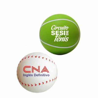 Anti Stress Bola Esporte Personalizado - Direct Brindes Personalizados