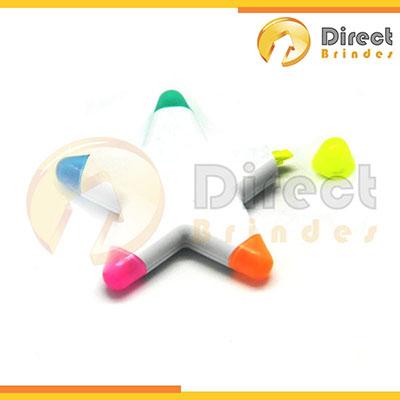 direct-brindes-personalizados - Caneta com 5 cores.