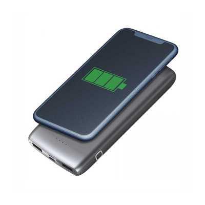 Carregador Power Bank bateria por indução 12000mAh Personalizado