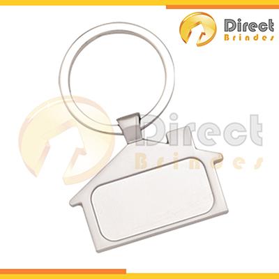 Direct Brindes Personalizados - Chaveiro de metal promocional.