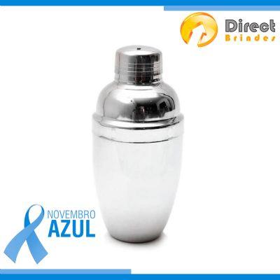 Direct Brindes Personalizados - Coqueteleira em inox