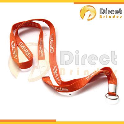 direct-brindes-personalizados - Cordão para crachá personalizado com mini argola níquel e trava.