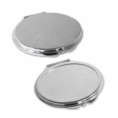 Espelho de Bolsa em Formato de Oval