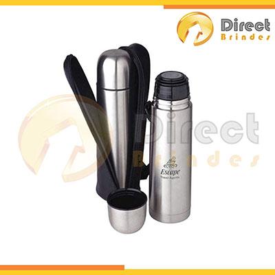 direct-brindes-personalizados - Garrafa térmica em alumínio 500 ml.