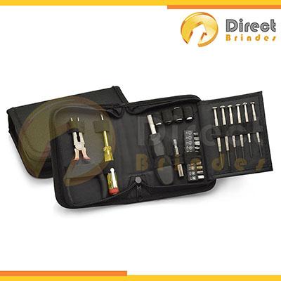 direct-brindes-personalizados - Kit ferramenta brindes com 24 peças.