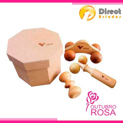 Kit Spa massageadores - Direct Brindes Personalizados