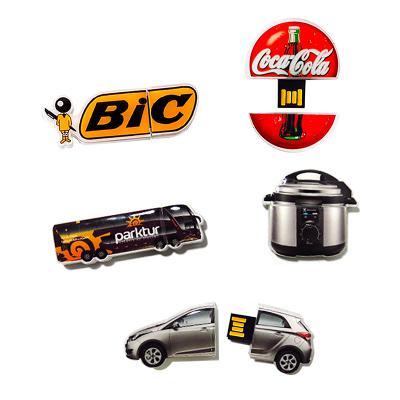 direct-brindes-personalizados - Pen Drive em Resina com Tampa - 4GB 1