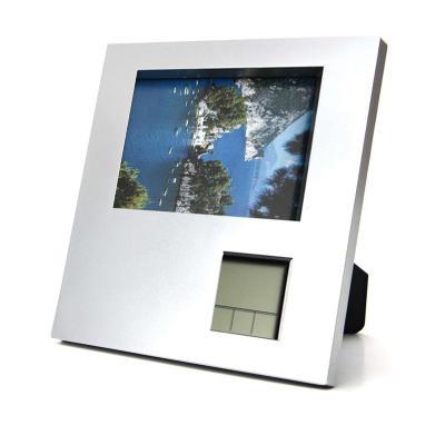 Porta Retrato com Relógio Digital 1