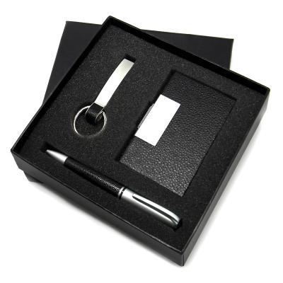 direct-brindes-personalizados - Conjunto Caneta/Chaveiro/Porta Cartão 1