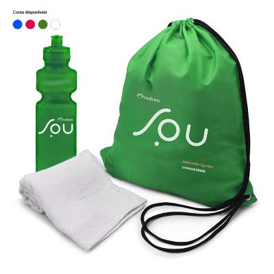 Kit Fitness com Mochila 1 - Direct Brindes Personalizados