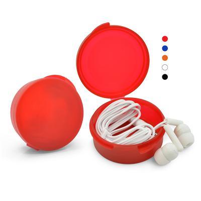 direct-brindes-personalizados - Fone de Ouvido Intra-Auricular com Estojo 1