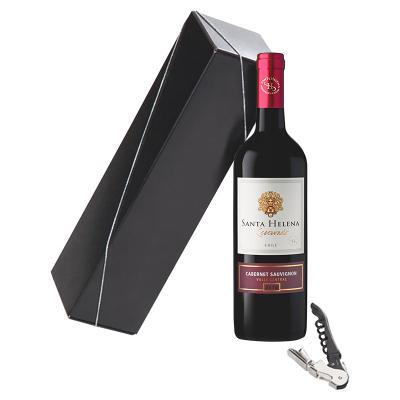 Kit Bebida Vinho Embalagem 1 - Direct Brindes Personalizados