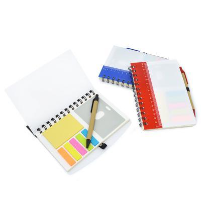 Direct Brindes Personalizados - Bloco de Anotações Branco e Régua Color 1