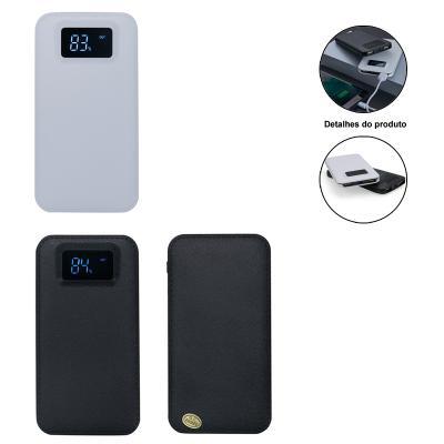Carregador Power Bank bateria  3200mAh Plástico com Visor Digital 1