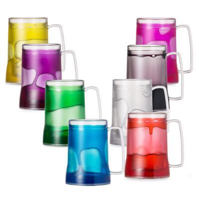 Caneca Acrílica 400ml com Gel Térmico Colorido 1 - Direct Brindes Personalizados