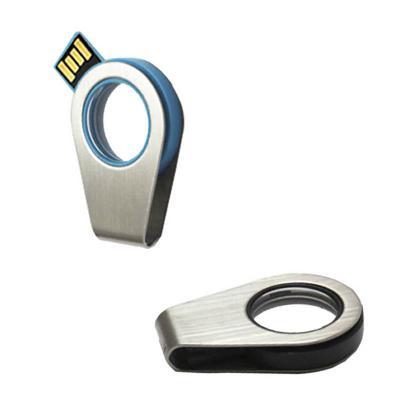 direct-brindes-personalizados - Pen Drive Giratório com Detalhe Transparente de 4GB 1
