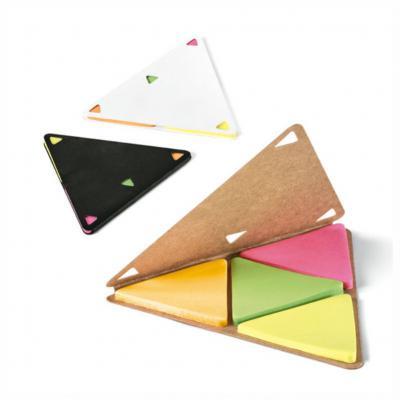 Bloco de Anotações Formato Triangular 1