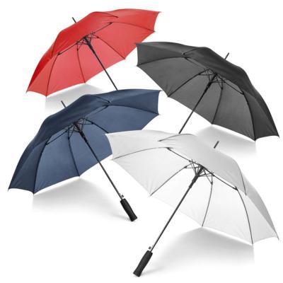 Direct Brindes Personalizados - Guarda-chuva. Poliéster 190T. Varetas e haste em fibra de vidro 1