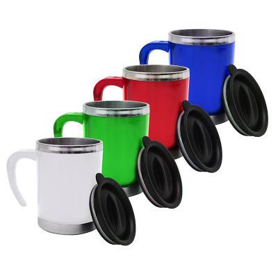 direct-brindes-personalizados - Caneca Inox 400ml Color Acrílica 1