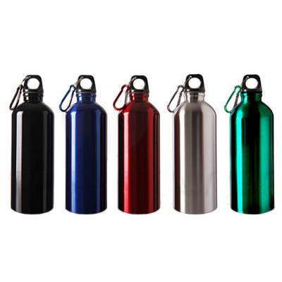 Squeeze 500 ml Metal com Mosquetão 1 - Direct Brindes Personalizados