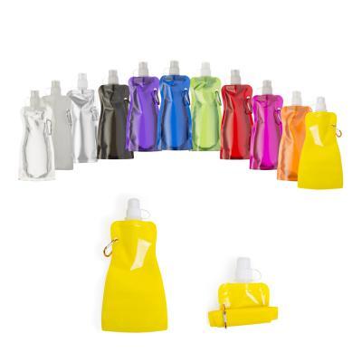 direct-brindes-personalizados - Squeeze Plástico Dobrável Cintura 480ml Colorido 1
