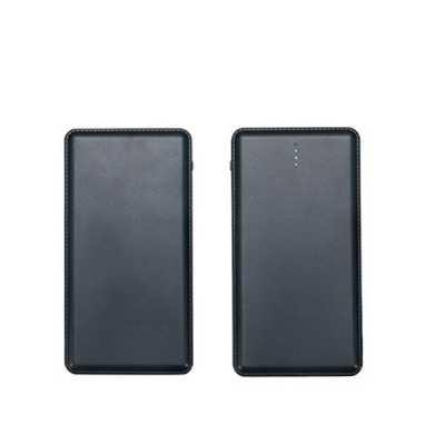 direct-brindes-personalizados - Carregador Power Bank bateria 6000mAh Slim com Níveis Personalizado