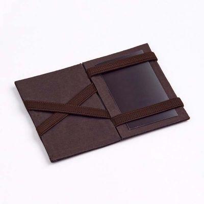 up-couro - Porta cartão mágico personalizado
