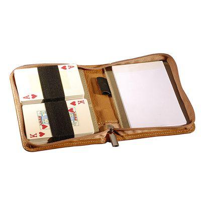 up-couro - Porta baralho personalizado em couro e sintético.
