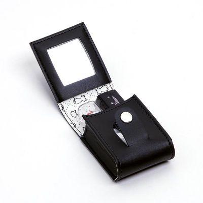 up-couro - Porta batom duplo personalizado