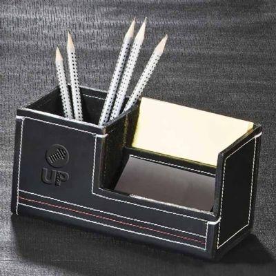 UP Couro - Porta canetas personalizado em couro ou sintético