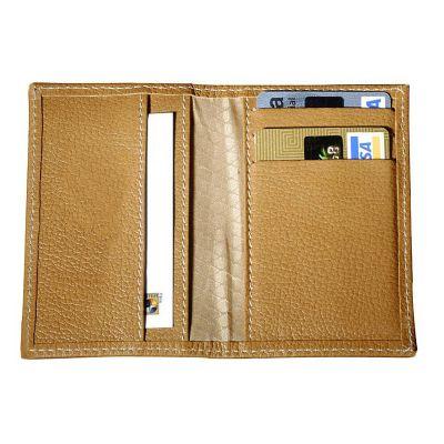up-couro - Porta cartão personalizado