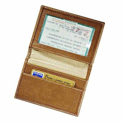 UP Couro - Porta documento confeccionado em couro ou sintético
