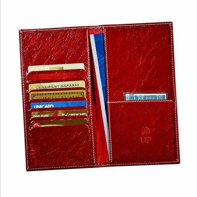 UP Couro - Porta passaporte personalizado