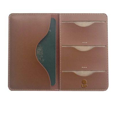 UP Couro - Porta passaporte promocional